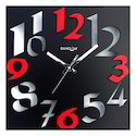 Rectangular Wooden Wall Clocks