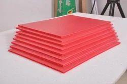 Multicolor Polypropylene Sheet, Thickness: 3mm