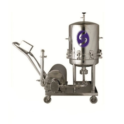 Stainless Steel Centrifugal Filter Press Filtration Machine