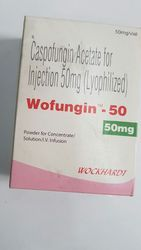 Caspofungin Acetate Injection, Strength: 50 mg, Packaging: Glass Ampoules