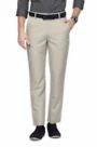 Peter England Cream Trouser