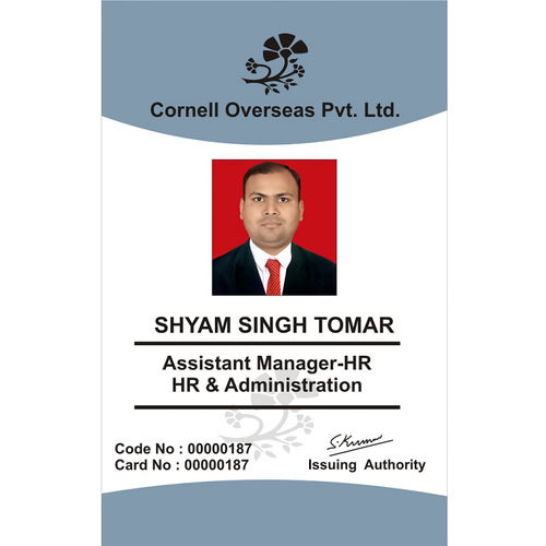 Corporate id card at rs 30 piece flatted factory complex new corporate id card colourmoves