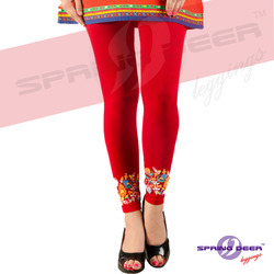 Ladies Spring Deer Leggings