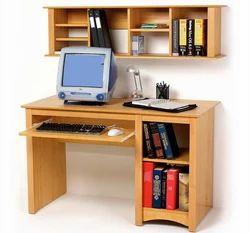 Wooden Rectangular Office Computer Table