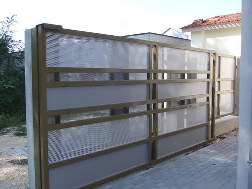 Remote Control Gates Motorized Compound Sliding Gates