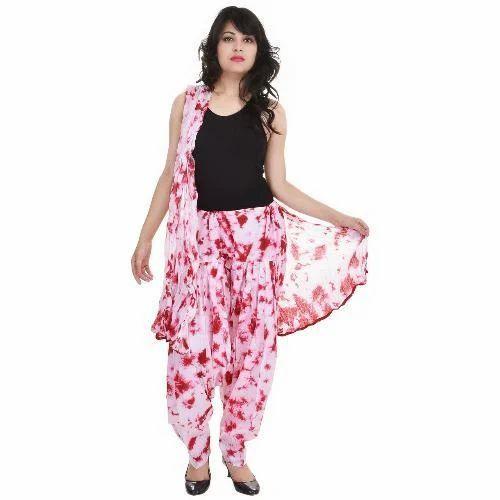 13247fcfcd Cotton Floral Print Patiala Salwar And Dupatta, Rs 300 /piece | ID ...