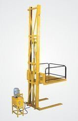 Hydraulic Goods Lift Single Mast