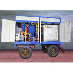 Mobile Type Transformer Oil Filtration Plant