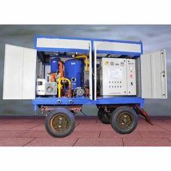 Mobile Type Transformer Oil Filtration Plant