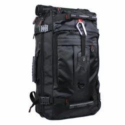 Nylon Matty Black Large Travel Bag