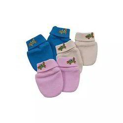 100% Cotton - Interlock Baby Gloves
