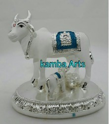 Silver Plated Cow