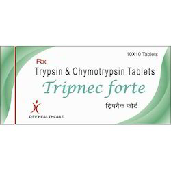 Trypsin and Chymotrypsin Tablets