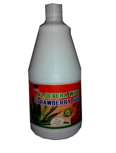 Aloe Vera Strawberry Juice, Packaging Type: Bottle, Pack Size: 500 Ml, 1000 Ml