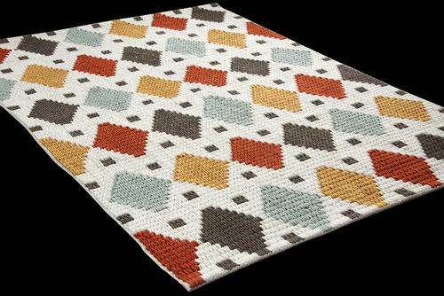 Flat Weave Cotton Rug View