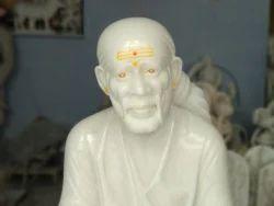 Sai Baba White Marble Statue