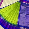 Temple Border Korvai Silk Saree