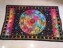 Tie Dye Printed Zodiac Design Cotton Tapestry