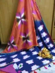 Clamping Fancy Saree