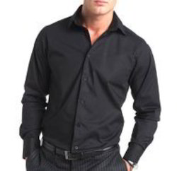Cotton Formal Wear Mens Designer Shirts