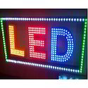 Acrylic Rectangle LED Sign Board