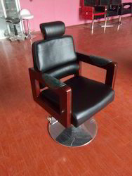 Royale Salon Chair(Wooden Arms)