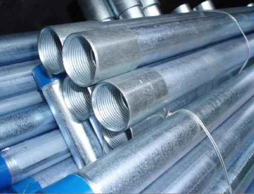 Round Galvanized Iron Pipes Screwed Ends, Diameter: >3 Inch | ID