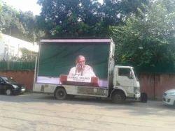Low Cost Led Van On Rent, Led Mobile Van On Hire, Pracharrat