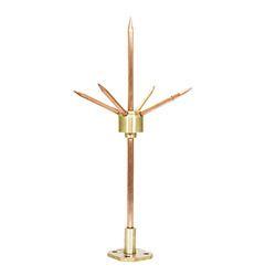 Lead Coated Copper Lightning Arrester  sc 1 st  JMV LPS Limited & Lead Coated Copper Lightning Arrester - Manufacturer from Noida