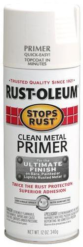 Rust Oleum Stops Rust Clean Metal Primer Spray Paint