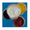 Printing Silicone Fluid Oil Emulsions