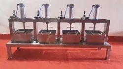 Multihead Pneumatic Paneer Press