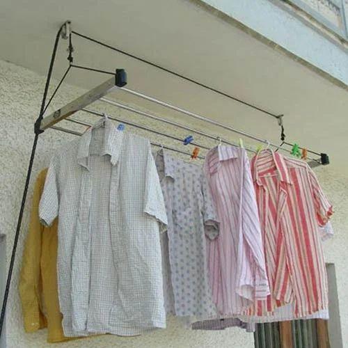 Pulley Cloth Drying Ceiling Hanger छत वाला कपड़े सूखाने