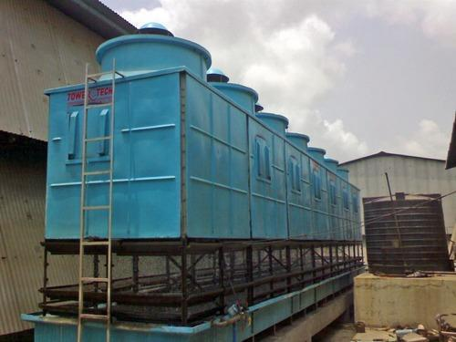 Cooling Tower Rectangular Cooling Tower Manufacturer From Ahmedabad