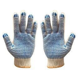 Medium Dotted Knitted Gloves