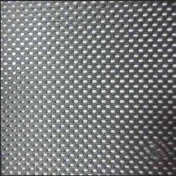 Plain, Dotted Grey Polyester Chair Fabric
