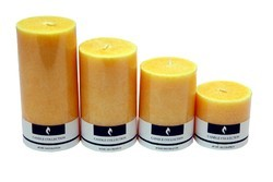 4 No. Marble Candle Jasmine