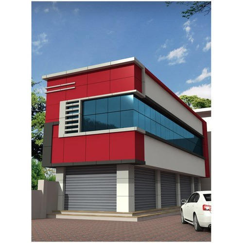 Front Elevation Acp Sheet : Acp front elevation cladding in kanchipuram sriperumbudur