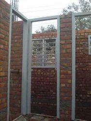 Mild Steel Rectangular MS Door Frames, Dimension/Size: 7x3 Feet