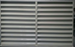 Industrial GI Air Louver