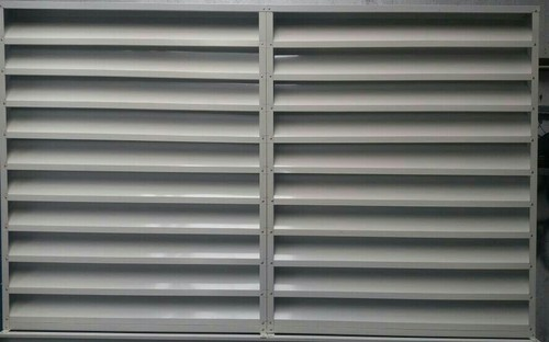 Industrial Louver Industrial Gi Air Louver Manufacturer