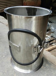 Cylindrical GI Rice Mill Air Ducts, For Industrial, Galvanized