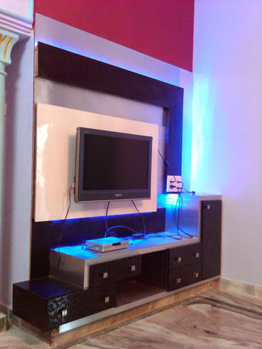 Wall Tv Unit Design Tv Unit: Wooden Wall TV Cabinet, Rs 35000 /piece, Aamphaa Projects