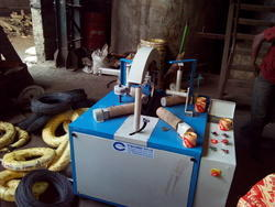 M.S. Wire Wrapping Machine