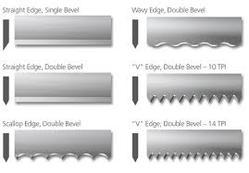 Cutwell Wavy Edge Band Knife Blade For Industrial Rs