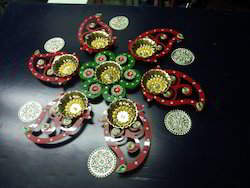 Diwali Rangoli Diya