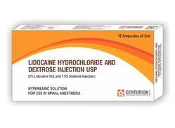 Lidocaine and Dextrose Injection USP (Hyperbaric Solution)