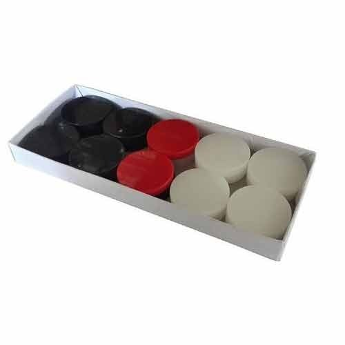 Indiavibes Carrom 20 Synthetic Coins
