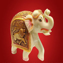 Fiber Ivory Statue, For Interior Decor