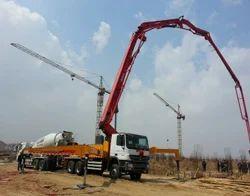 Concrete Pump Truck at Best Price in India